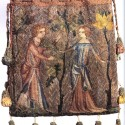 Parisian purse from 1340, color