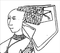 Eden, wife of Sir John Barre, 1470