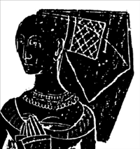 Iseult, wife of Thomas Selby, 1479