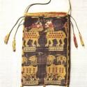 9thc Byzantine relic purse