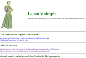 Original look and feel of La cotte simple