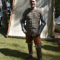 A gambeson, made by Henri Paves, photo by Margit Kaur