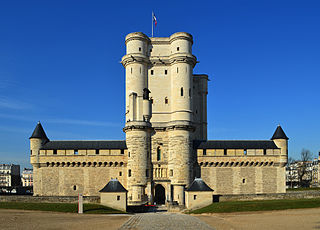 The donjon at Vincennes