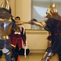 Who likes medieval martial garments? Students of medieval martial arts.
