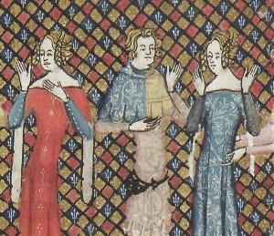 Roman d'Alexandre, 1344, Tournai, Oxford, Bodley Ms. 264 f.84v