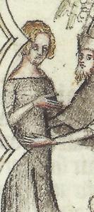 Bible Moralisée, 1350-1, BNF Ms. fr. 167 f.7v