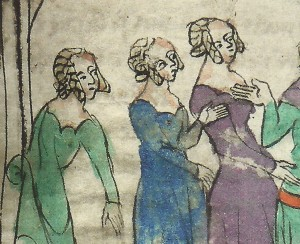 Roman de la Rose, 1370+,  Arras, Bibl. mun. Ms. 897 f.117
