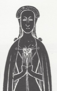 Wife of Sir __ de Redford, 1390, English