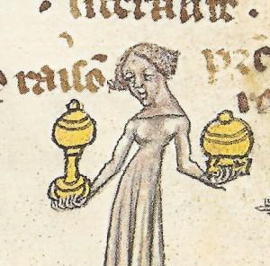Aristotle Ethiques, 1397+, Chantilly Mus. Condé Ms. 277 (XIX C 10) f.60
