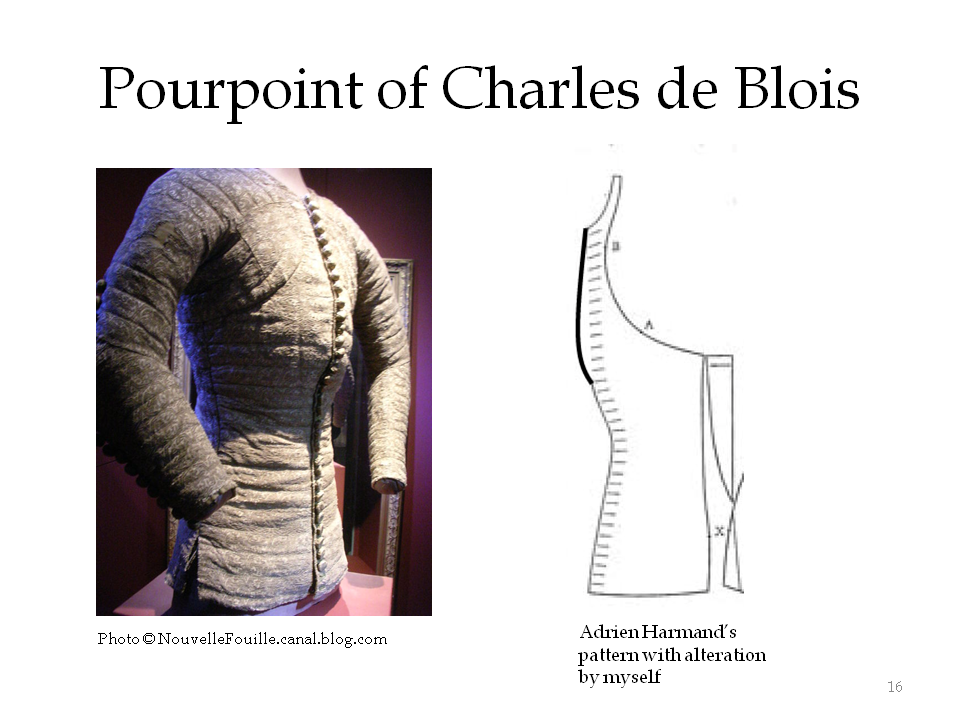 Surviving pourpoint of Charles de Blois