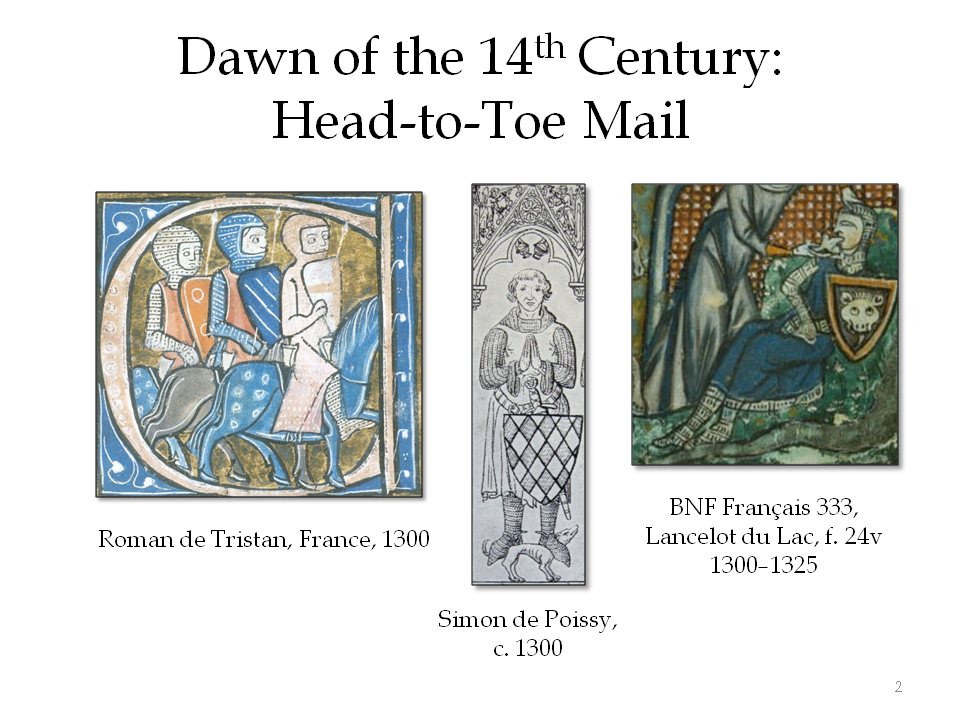 Head-to-toe mail at the dawn of the 14th century
