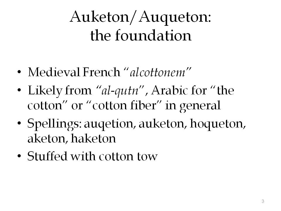 Aketon etymology