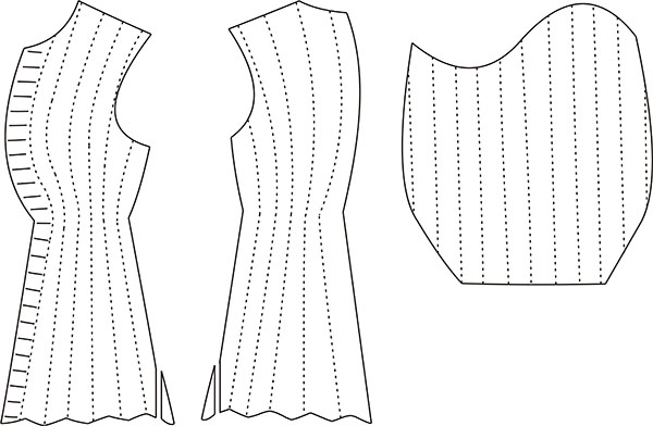 Charles VI pourpoint/coat armour pattern, copyright Tasha Dandelion Kelly