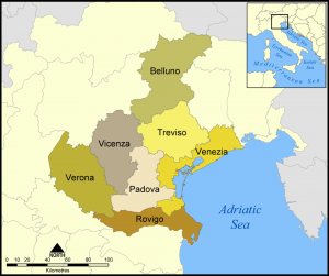 The Provinces of the Veneto