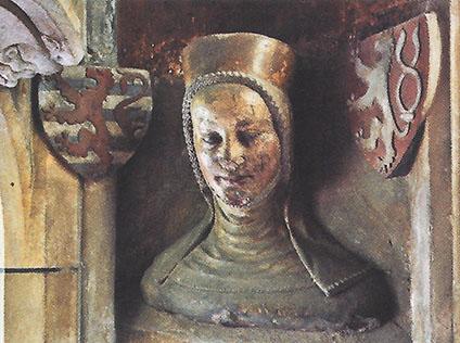 Bust of Elizabeth Premyslid