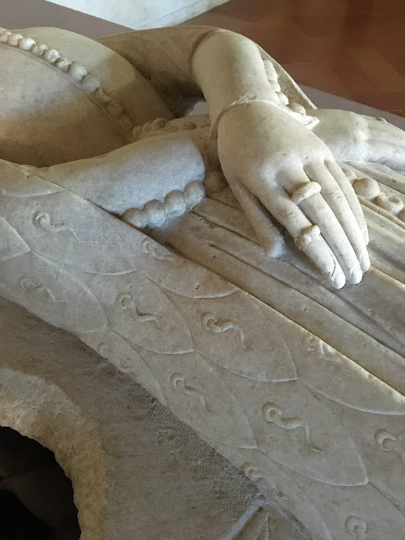 Effigy of Alda d'Este, c.1381, photo copyright Tasha Kelly