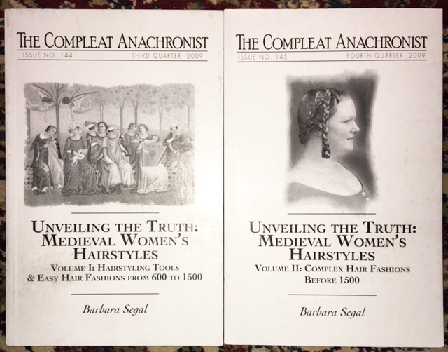 The Compleat Anachronist, issues 144 and 145, by Barbara Segal. I recommend it to anyone interested in historical hairstyling.
