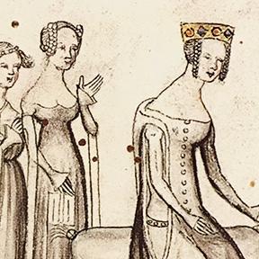 From BNF MS Français 811, f.IV. Paris, 1398.