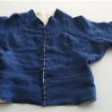 Mid-15thc arming doublet with grandes assiettes, front