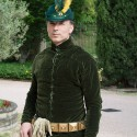A velvet doublet, made by Christian Cameron