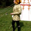 1415 doublet patterned by me, sewn by Greta Nappa