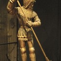 Statue of St. George at the Cluny